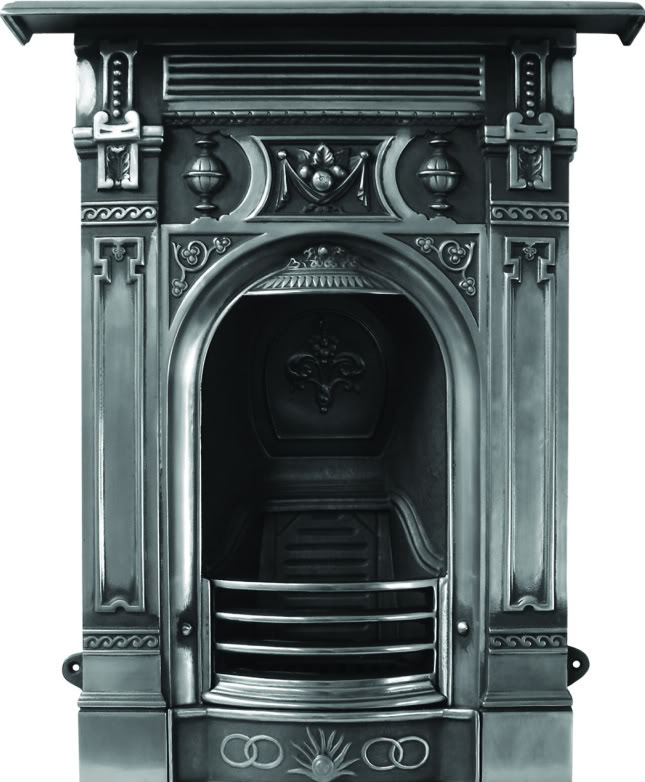 The Victorian Cast Iron Fireplace Small